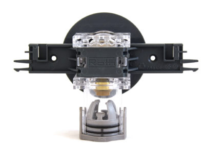 Quickbox with flange, back