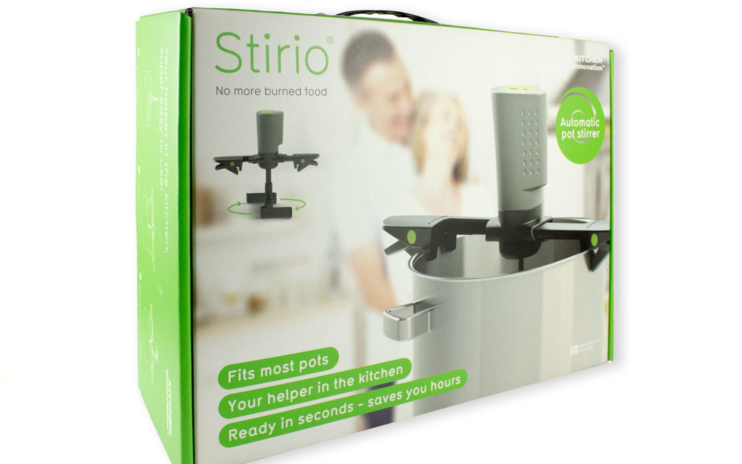 Stirio – packaging